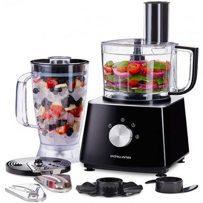 Andrew James food processor with blender, 2L
