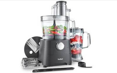 VonShef 1000W Food Processor