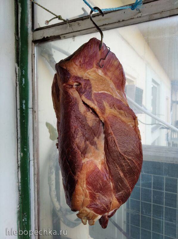 Хамон – сыровяленый свиной окорок
