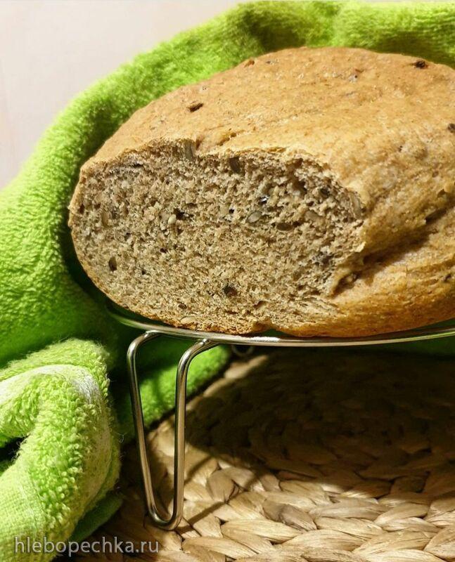 Как испечь цельнозерновой хлеб в хлебопечке Endever?