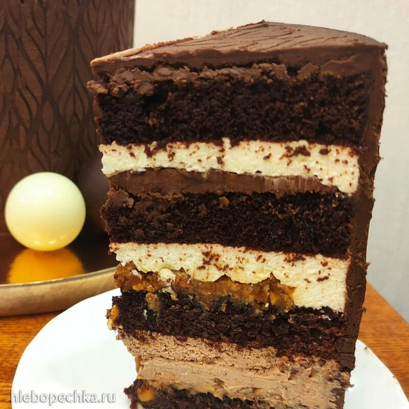 Торт «Сникерс» от Алины Ахмадиевой