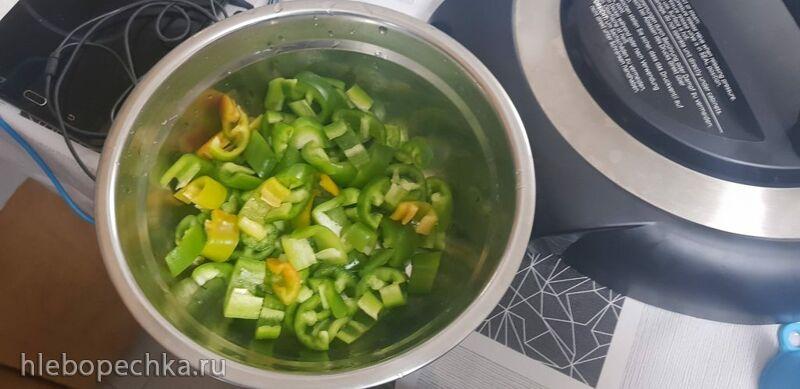 Говядина с овощами в Европейском/Китайском стиле в кастрюле Ninja