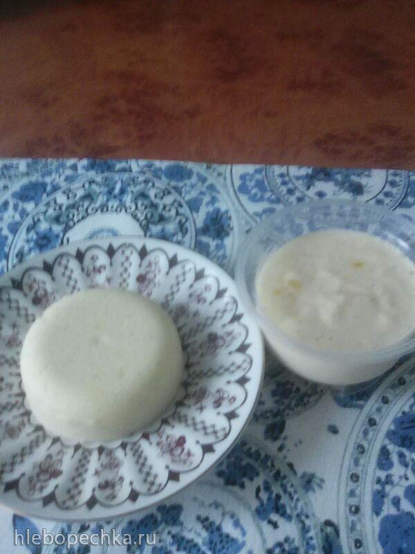 Примитивный зефир без белка и сахара