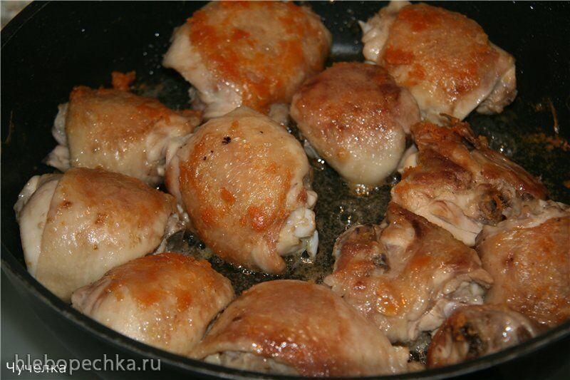 Курица, жареная на... воде