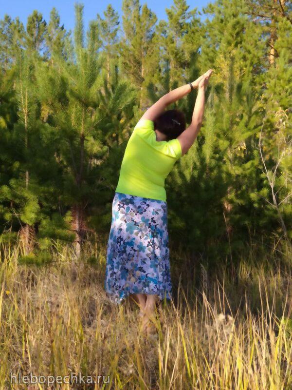 Танцую Каошики, 108 повторений, с постепенно ускоряющимся темпом