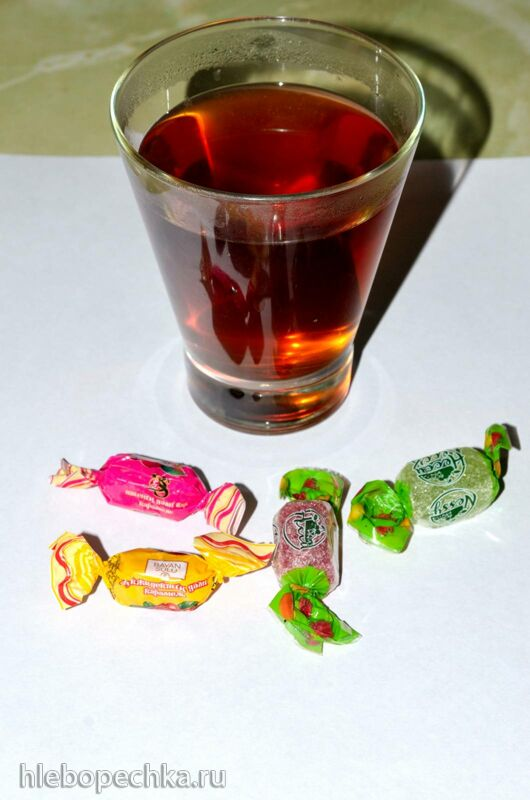 Чай ферментированный «Розовый танец» (роза+яблоня)