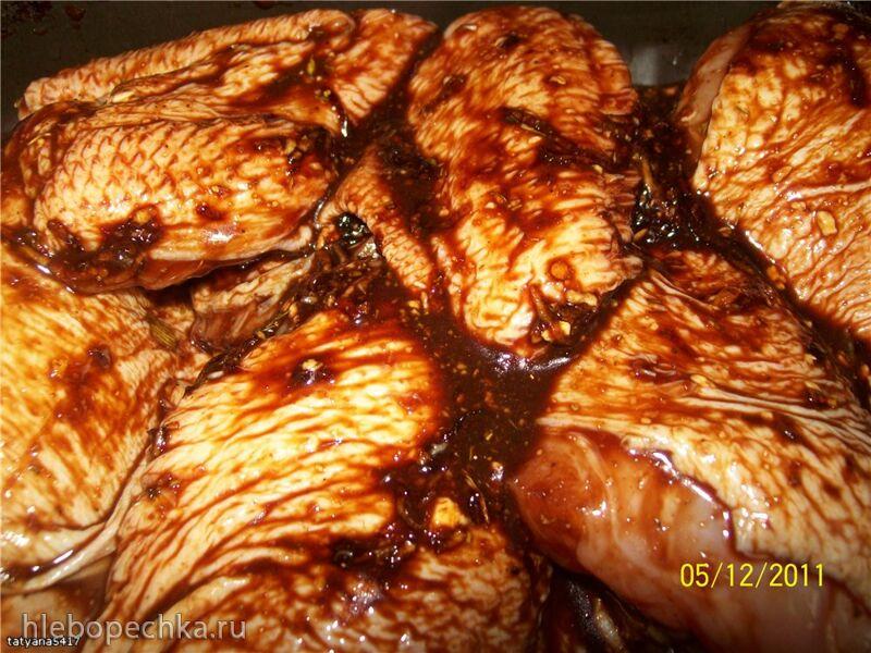 Курица в соевом маринаде