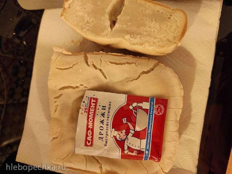 Безглютеновый хлеб совсем не поднялся в хлебопечке Panasonic  SD-2510