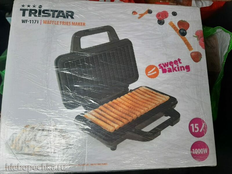 Вафельница-кексница Tristar - Waffle Fries Maker WF-1171