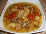 Суп мясной с цветной капустой ( Cuckoo 1054)