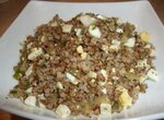 Каша гречневая с луком и яйцами
