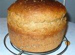 Пшенично-ржаной хлеб с закваской и ржано-пшеничной крупкой