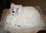 Торт Кошка Мастер-класс