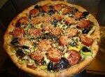 Тесто для пиццы сырное
