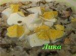 Суп с морской капустой густой