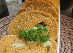 Томатный хлеб с сыром кашкавал
