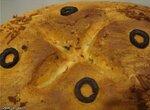 Хлеб в греческом стиле (духовка)
