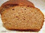 Хлеб пшеничный с яблоком и курагой на закваске