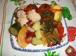 Овощи в маринадной заливке «Зимние»