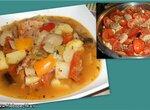 Густой суп (рагу) из мясного ассорти с овощами