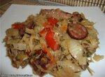 Солянка из квашеной капусты с ребрышками