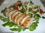 Салат с киви и куриной грудкой