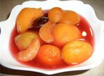 Десерт «Фрукты в сиропе»