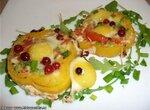 Яичница с перепелиными яйцами