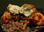 Рыбные фрикадельки (кнели) в томатном соусе с овощамиCuckoo 1054)
