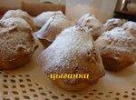 Кексы диетические с кокосовыми цукатами