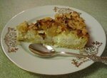 Пирог творожно-яблочный