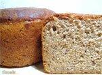 Хлеб пшеничный с цельным зерном и творогом на закваске