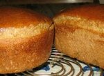 Ржано-кукурузно-гречишно-овсяный хлеб с куркумой, пажитником и льняной мукой