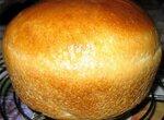 Пшеничный заварной хлеб с льняной мукой