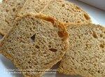 Пшенично-ржаной хлеб с расторопшей на огуречной закваске