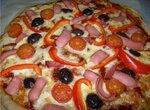 Цельнозерновая пицца на закваске