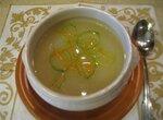 Густой суп из белокачанной капусты с хреном