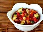 Томатный холодный суп из овощей