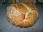 Хлеб деревенский с мукой Настюша Премьера на закваске