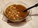 Капустный суп с арахисом