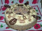 Торт бисквитный с кремом Шарлотт