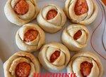 Печенье Розочки с ванильным сахаром