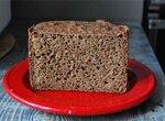Хлеб ржаной 100% с отрубями, льняной мукой, черным тмином