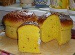 Пшенично-кукурузные хлебный кекс (духовка)
