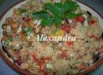 Табуле - тёплый салат с цельнозерновым кускусом