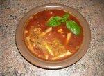 Суп томатный по-итальянски