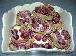 Калитки (Карельские ржаные пирожки) с вишней в творожной заливке