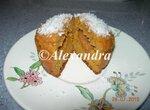 Мини-кексы морковные цельнозерновые с абрикосовым джемом