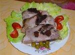 Свиная шейка с черносливом