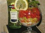 Порционный салат Мартини